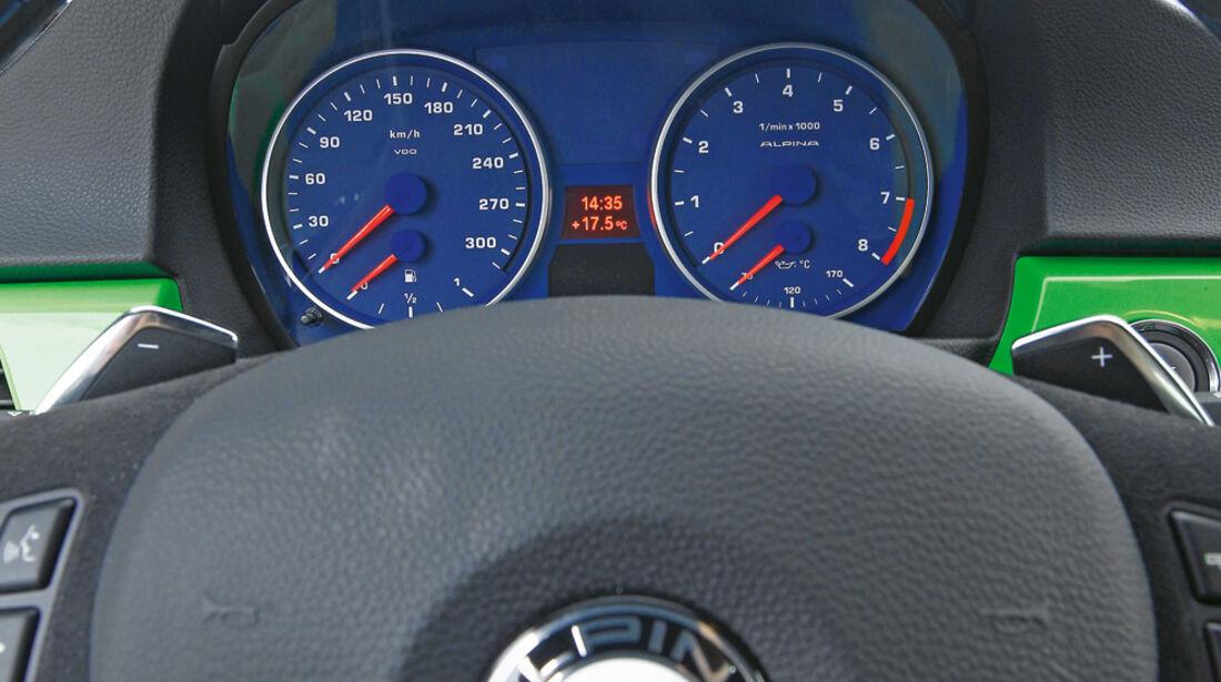 BMW Alpina B3 GT3, Rundinstrumente
