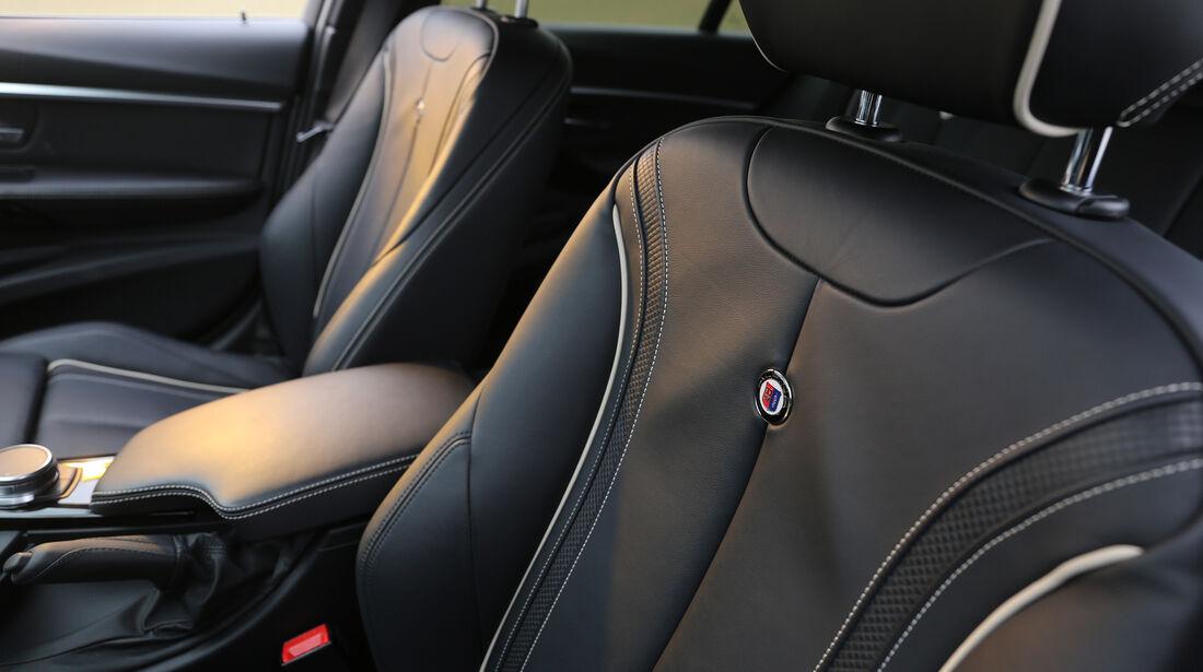 BMW Alpina B3 S Touring Allrad, Interieur