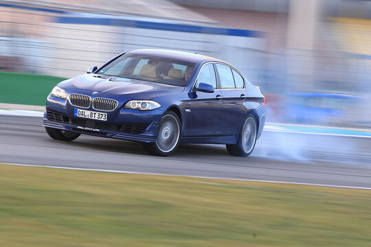 BMW Alpina B5 Biturbo, Drift