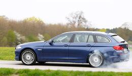 BMW Alpina B5 Biturbo Touring, Seitenansicht, Fahrt