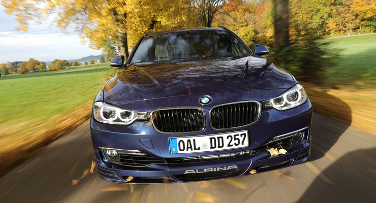 BMW Alpina D3 Touring, Frontansicht