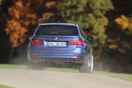 BMW Alpina D3 Touring, Heckansicht