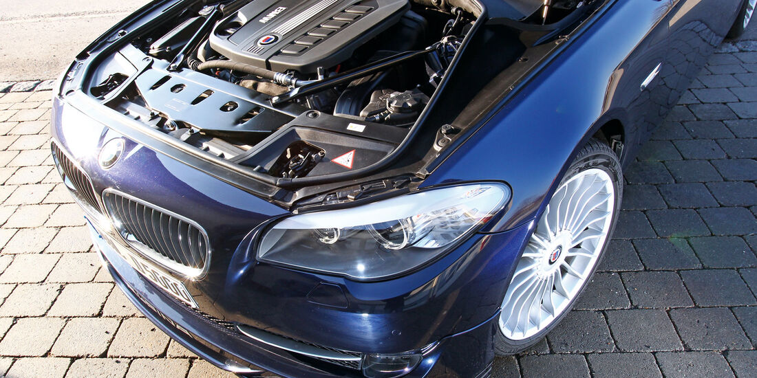 BMW Alpina D5, Motor, Motorraum