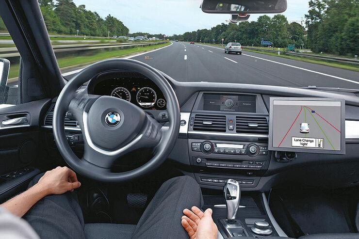 BMW Assistenzsysteme, Nothalteassistent
