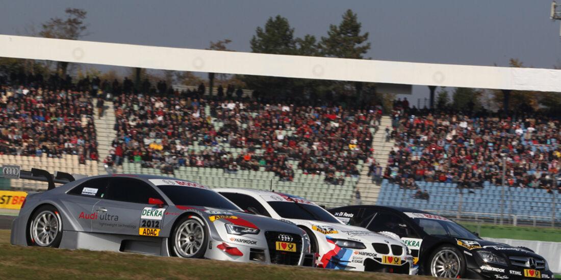 BMW Audi Mercedes DTM Autos 2012
