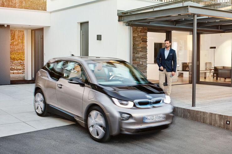 BMW CES 2016 Internet Vernetzung i3 Sperrfrist 6.1.