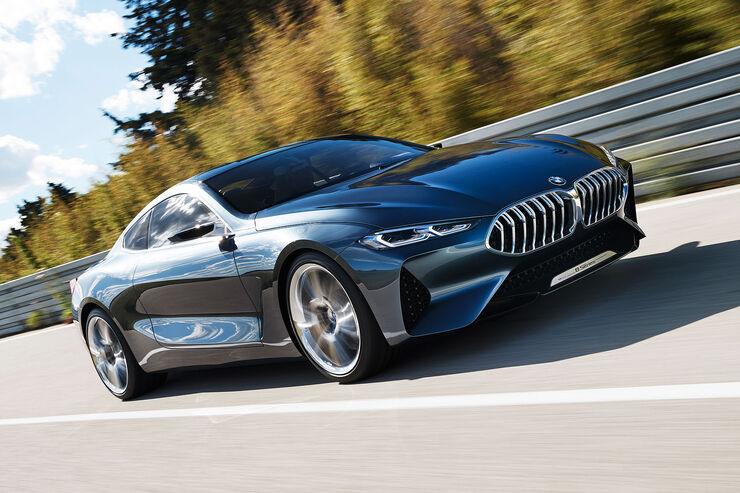 Designer Erklart BMW Series 8 Concept So Schick Wird Der 8er