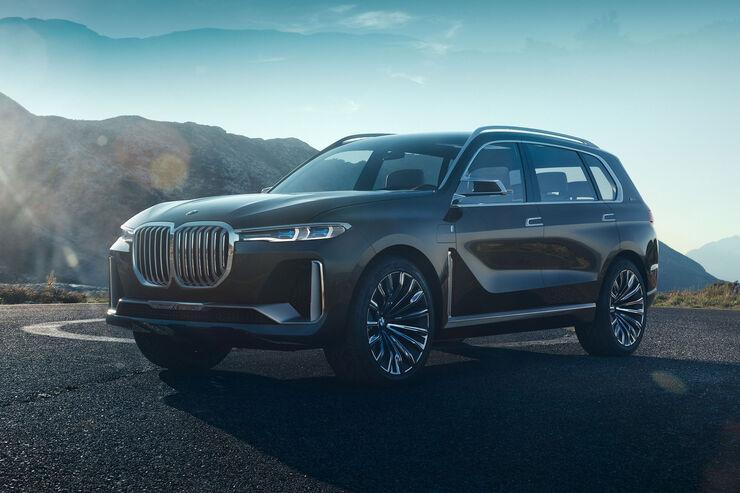 BMW Neuheiten Premium Hat Zukunft Concept X7 IPerformance