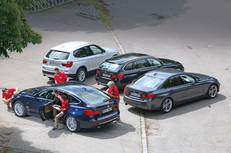 BMW Dreier-Reihe, Gruppenbild