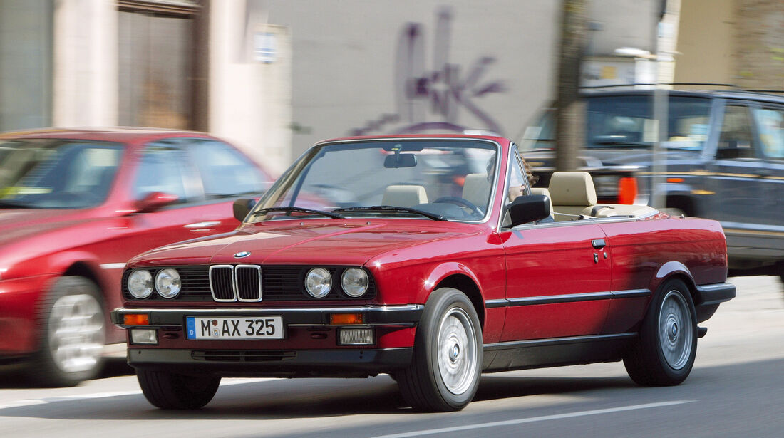 BMW E30, Seitenansicht