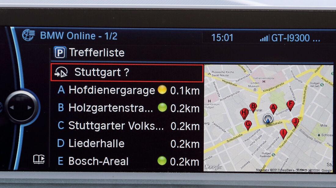 BMW Einser, Online-Funktionen