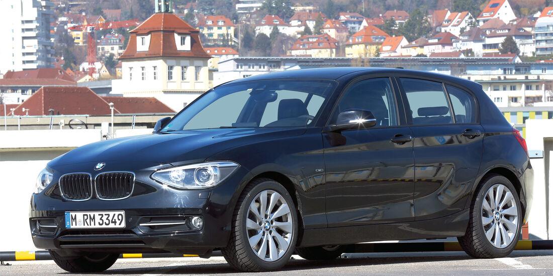 BMW Einser, Seitenansicht