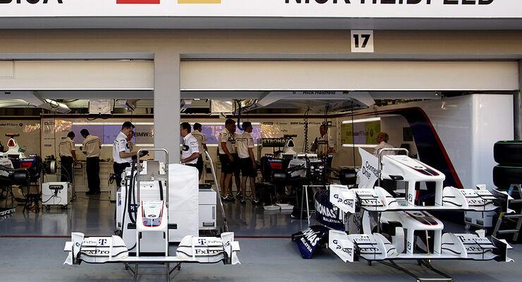 BMW F1 Box Singapur