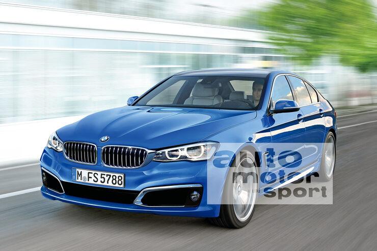 BMW Fünfer, Frontansicht