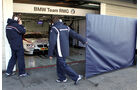 BMW Garage DTM Test Hockenheim 2012