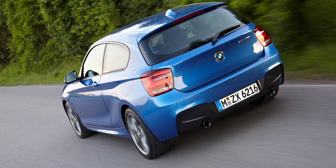 BMW M 135i, Heckansicht