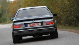 BMW M 635 CSi Typ E 24, Heck