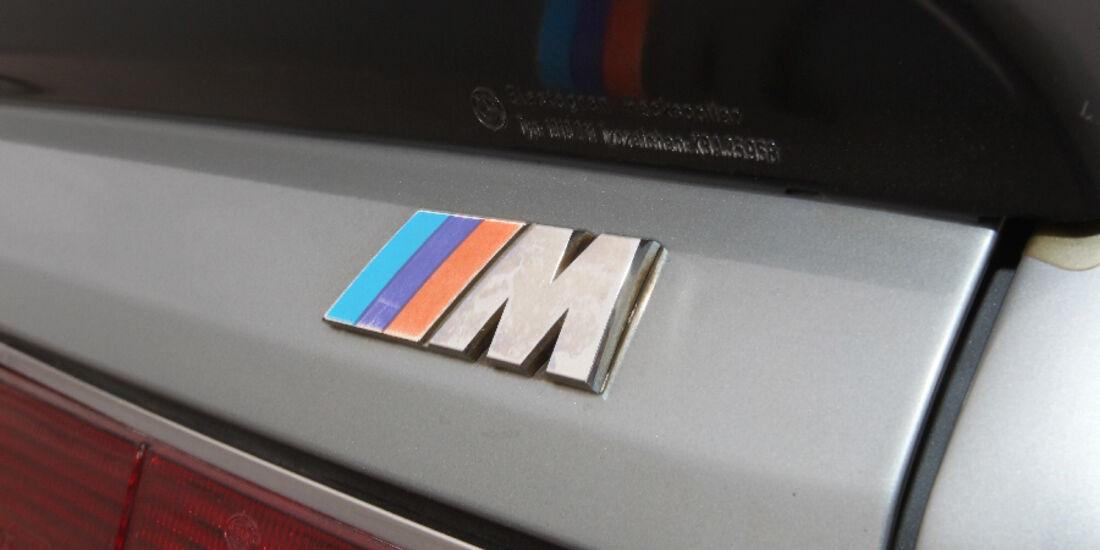 BMW M 635 CSi Typ E 24, Logo, Detail