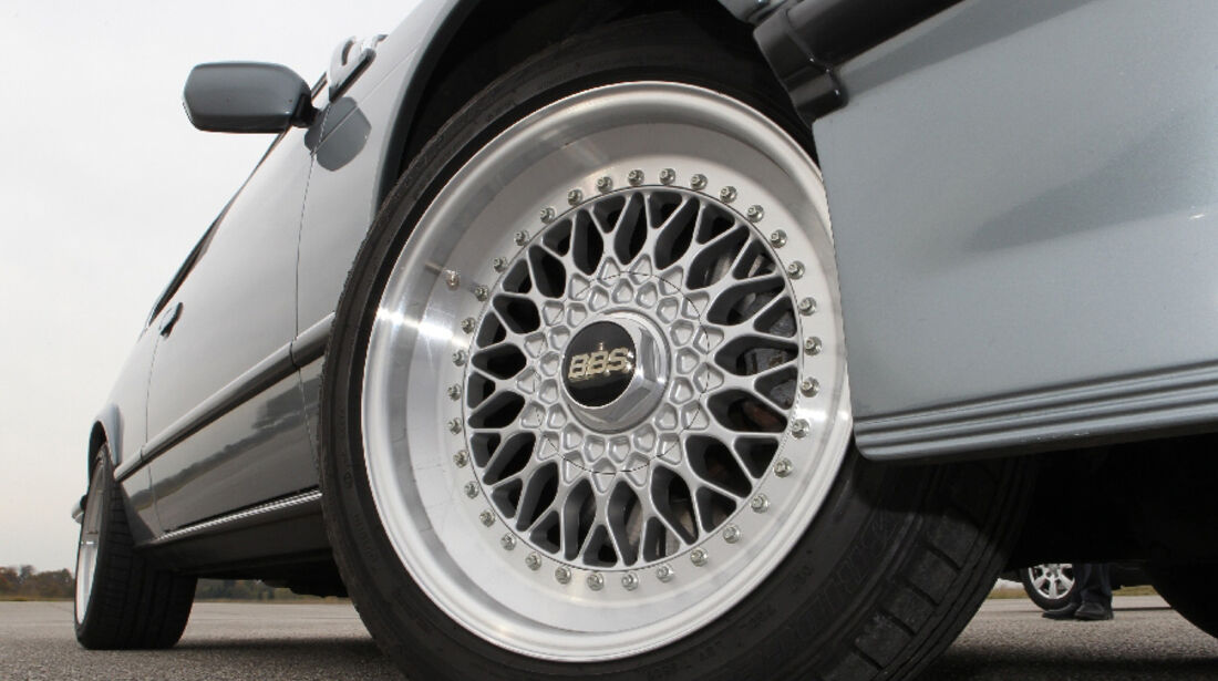 BMW M 635 CSi Typ E 24, Reifen, Felge, Detail