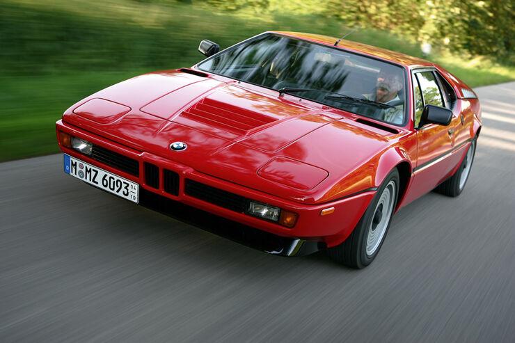 BMW M1, Frontansicht, Karl-Heinz Kalbfell, Paul Rosche