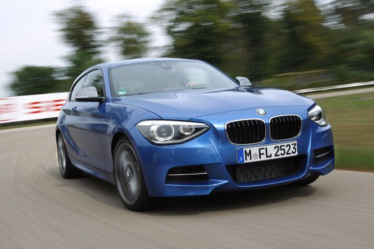 BMW M135i, Frontansicht