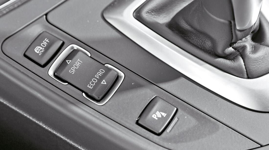 BMW M135i xDrive, Bedienelemente