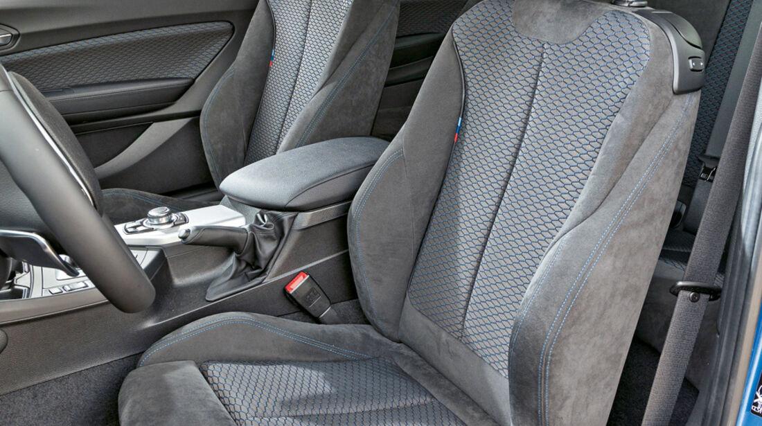 BMW M135i xDrive, Fahrersitz