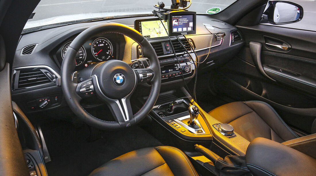 BMW M2 Competition, Interieur