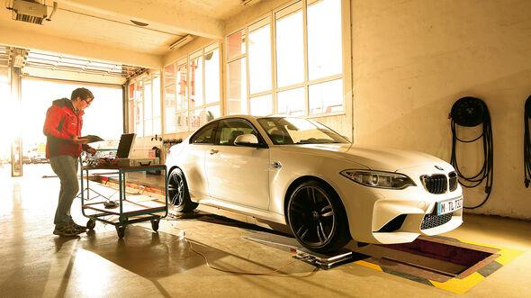 BMW M2 Coupé, Messung, Prüfstand