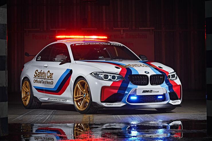Bmw M6 Gran Coupe >> BMW M2 MotoGP Safety Car 2016 - auto motor und sport