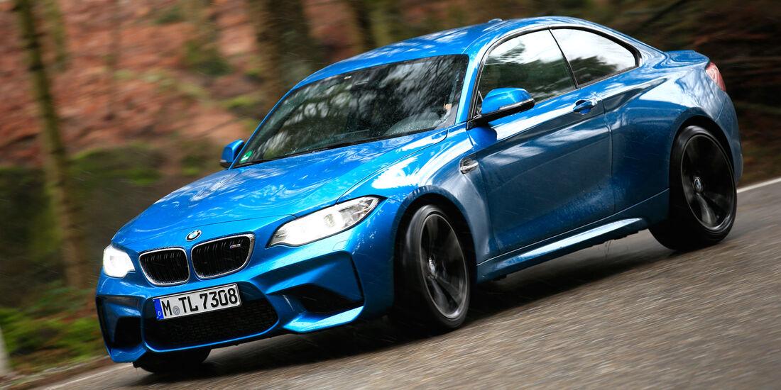 BMW M2, Seitenansicht