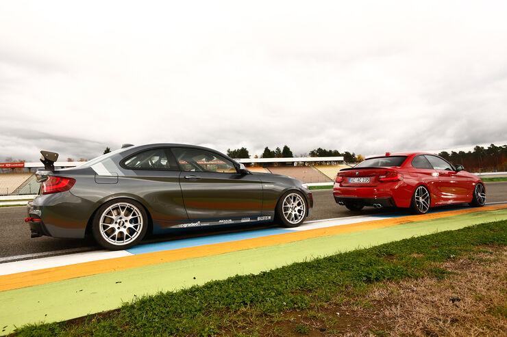BMW M235i von AC Schnitzer und RS Raceline: Getunte M235i-Bollerwerke im Vergleichstest