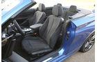 BMW M235i Cabrio, Fahrersitz
