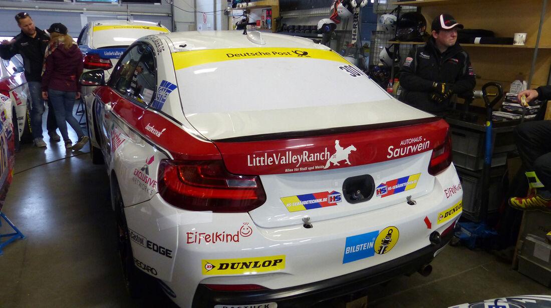 BMW M235i Racing - Team Securtal Sorg Rennsport - Startnummer: #301 - Bewerber/Fahrer: Friedhelm Mihm, Heiko Eichenberg, Kevin Warum, Torsten Kratz - Klasse: Cup 5