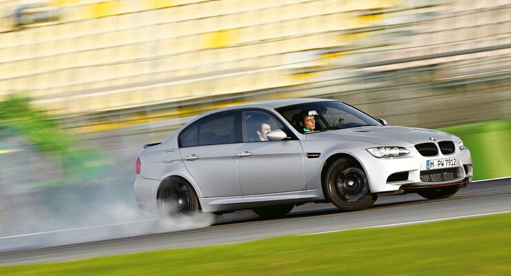 BMW M3 CRT, Bremstest