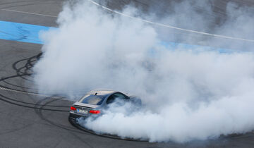 BMW M3 Coupé  E92, Burnout, Driften