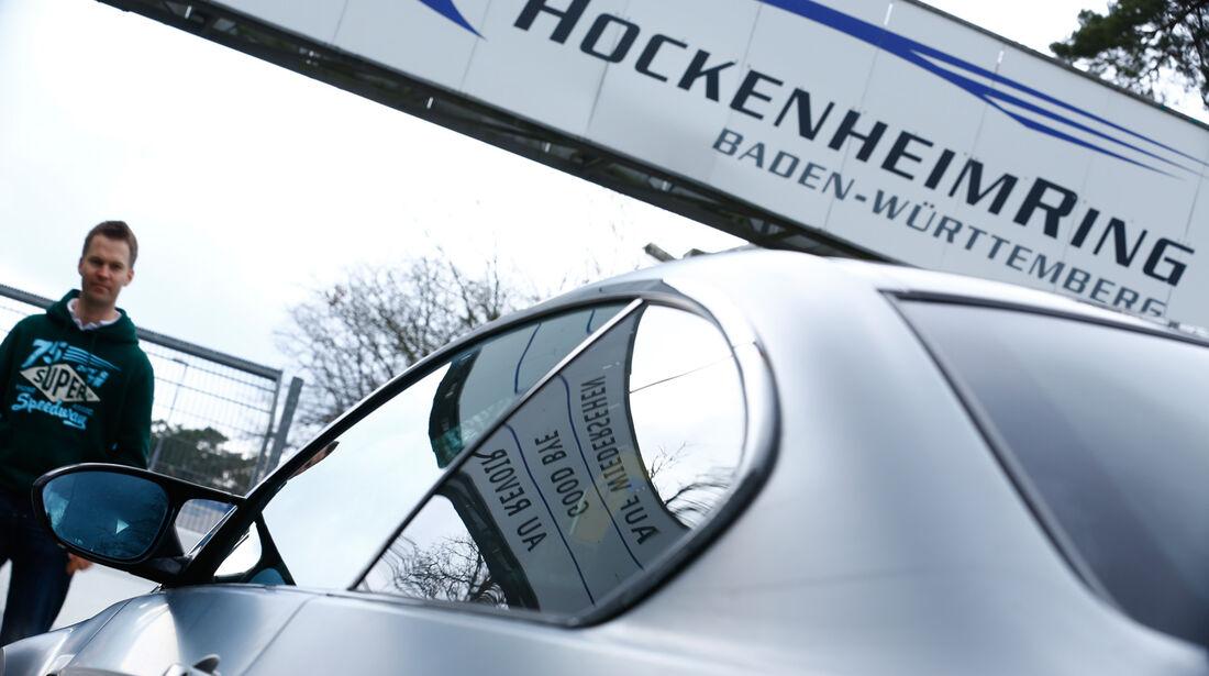 BMW M3 Coupé  E92, Seitenlinie, Nürburgring