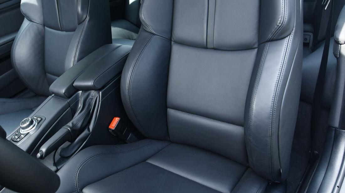 BMW M3 Coupé Fahrersitz