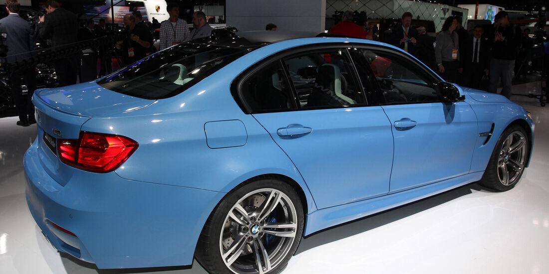 BMW M3 - Detroit Auto Show 2014