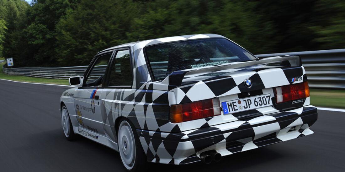 BMW M3 E30, Ring-Taxi, Baujahr 1987