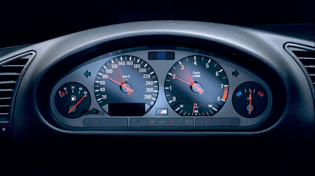 BMW M3, E36, Cockpit