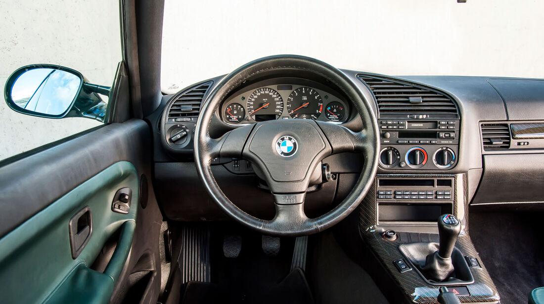 BMW M3 E36 GT - Lenkrad - Innenraum