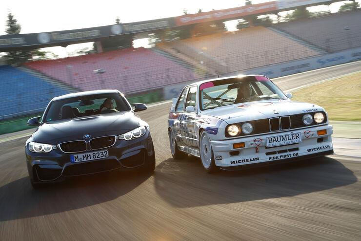 BMW M3 F80, BMW M3 E30 DTM, Frontansicht