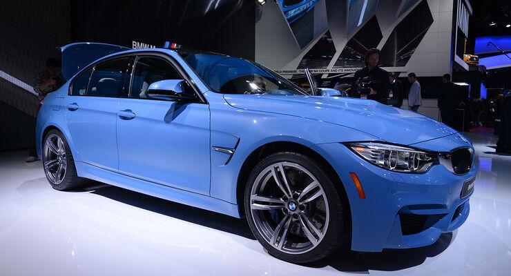 BMW M3 und M4 auf der Detroit Motor Show: 430 PS aus dem Sixpack ...