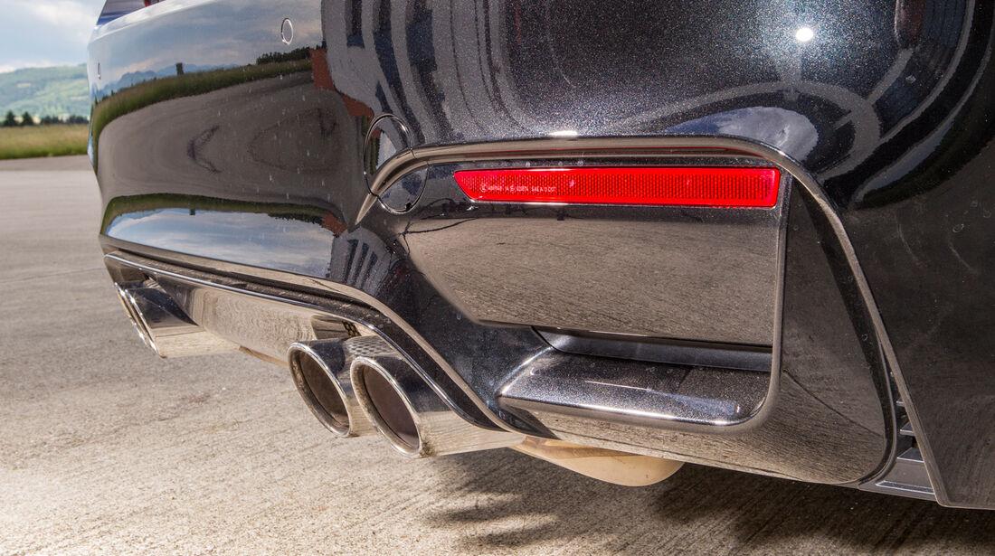 BMW M4, Auspuff, Endrohr