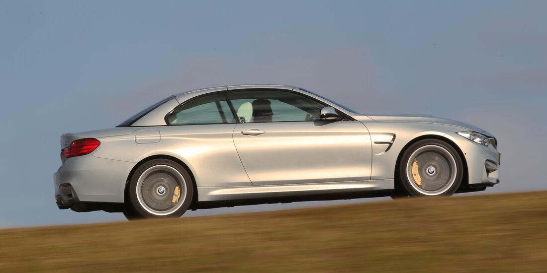 BMW M4 Cabrio, Seitenansicht