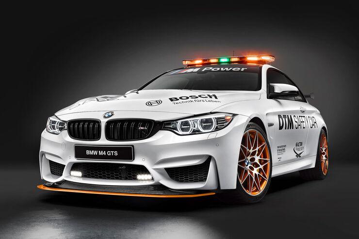 BMW M4 GTS DTM Safety Car
