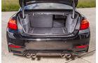 BMW M4, Kofferraum