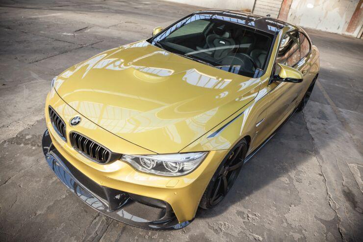 BMW M4 von Carbonfiber Dynamics und 3DDesign