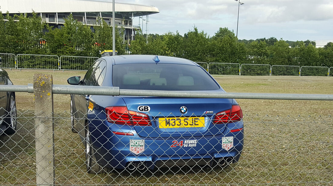 BMW M5 - Carspotting - 24h-Rennen Le Mans 2016